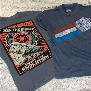 Set Of 2 Star Wars T-Shirts